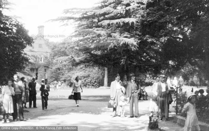 Photo of Chester Zoo, The Gardens c.1950