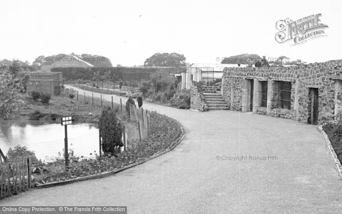 Photo of Chester Zoo, The Gardens c.1955