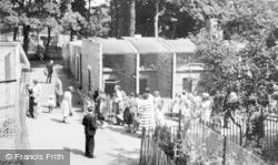 Chester Zoo, The Monkey House c.1950