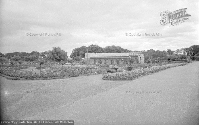 Photo of Chester Zoo, The Rose Garden And Parrot House 1957