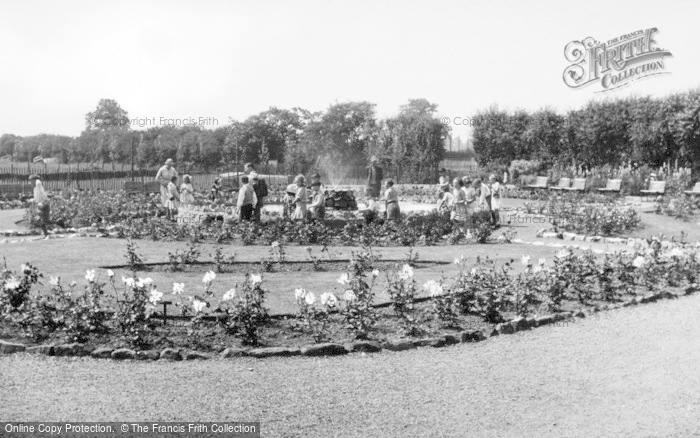 Photo of Chester Zoo, The Rose Garden c.1950