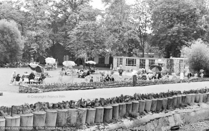 Photo of Chester Zoo, The Tea Garden c.1960