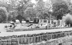 Chester Zoo, The Tea Garden c.1960