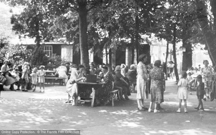 Photo of Chester Zoo, The Tea Gardens c.1950