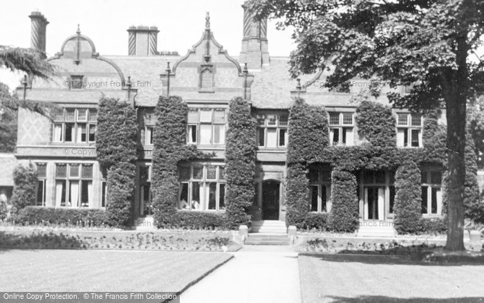 Photo of Chester Zoo, View Of The Offices And Cafe c.1950