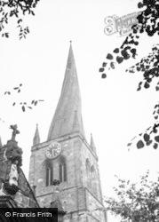 All Saints Church Tower 1949, Chesterfield