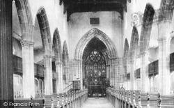 Church Interior 1896, Chesterfield