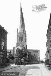 Chesterfield, Church Of St Mary And All Saints 1896