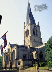 Crooked Spire, St Mary & All Saints Church c.2000, Chesterfield