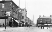Chesterfield, High Street 1896