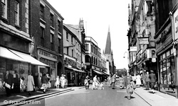 Chesterfield, High Street c.1955