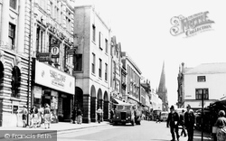 Chesterfield, High Street c.1960