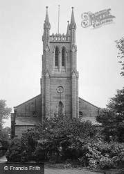 Holy Trinity Church, Tower 1914, Chesterfield