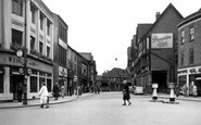 Chesterfield, Knifesmithgate 1952