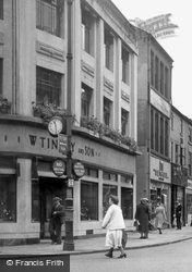 Knifesmithgate 1952, Chesterfield