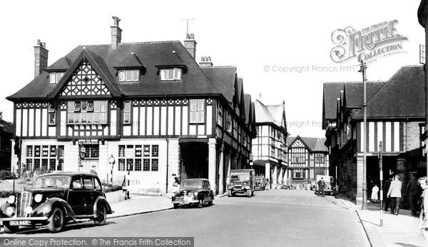 Chesterfield, Knifesmithgate c1955