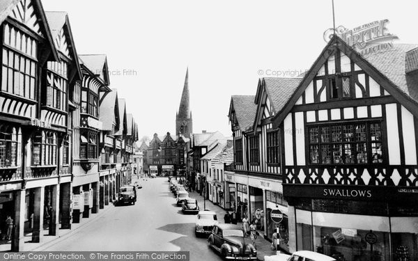 Photo of Chesterfield, Knifesmithgate c.1960