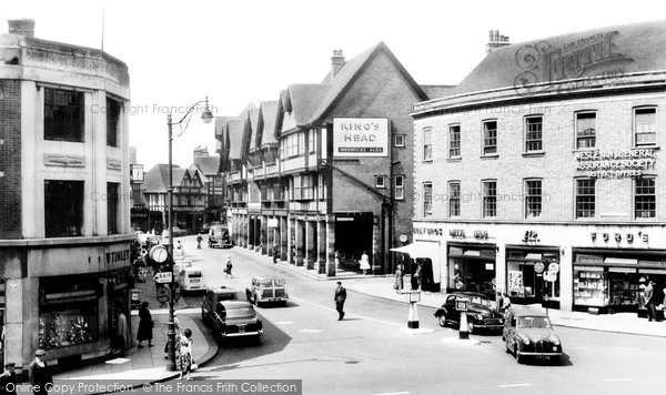Chesterfield, Knifesmithgate c1960