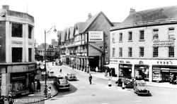 Chesterfield, Knifesmithgate c.1960