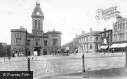 Market Place 1902, Chesterfield