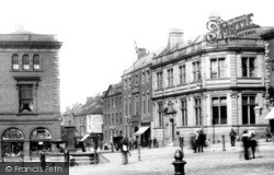 Chesterfield, Market Place 1902