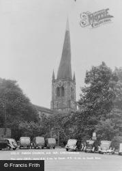 Parish Church c.1950, Chesterfield