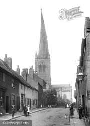Chesterfield, Parish Church Of St Mary And All Saints 1902