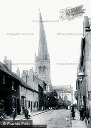 Parish Church Of St Mary And All Saints 1902, Chesterfield