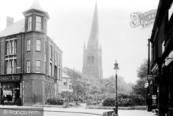 Chesterfield, Parish Church Of St Mary And All Saints 1914