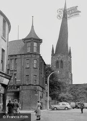 Parish Church Of St Mary And All Saints c.1955, Chesterfield