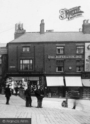 Roper And Son, High Street 1896, Chesterfield
