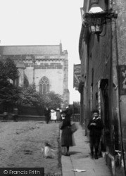 Chesterfield, St Mary's Gate 1902