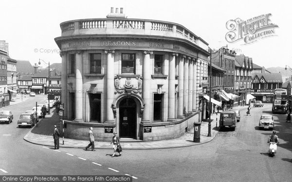 Photo of Chesterfield, Stephenson Place And Cavendish Street c.1960