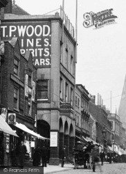 T P Wood, High Street 1896, Chesterfield