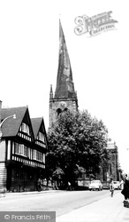 Chesterfield, The Crooked Spire c.1960