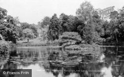 St Edward's College, The Lake c.1955, Cheswardine