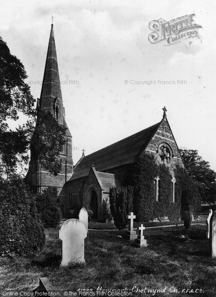 Photo of Chetwynd, The Church 1898