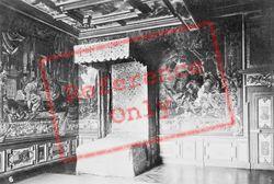 Chateau De Bedchamber c.1935, Cheverny