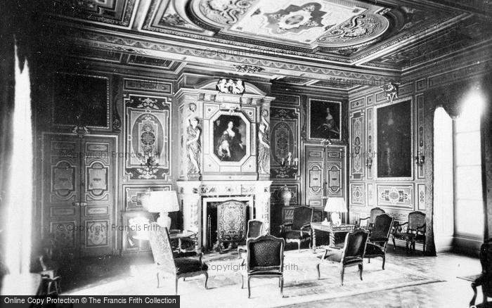 Photo of Cheverny, Chateau De Cheverny, Grand Salon c.1935