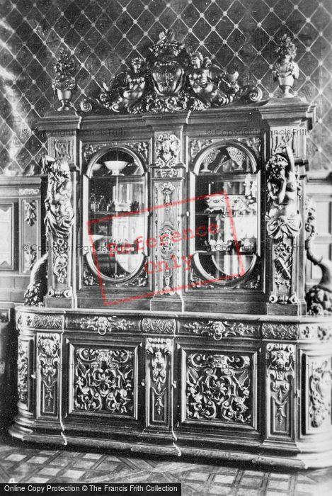 Photo of Cheverny, Chateau De Cheverny, Ornate Cabinet c.1935