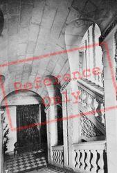 Chateau De Staircase c.1935, Cheverny