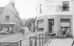 Chew Magna, The Grocery Stores, High Street c.1955