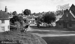 Chew Magna, View From The Churchyard c.1965