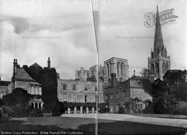 Photo of Chichester, Bishop's Palace 1906