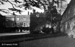 Chichester, Bishop's Palace c.1950