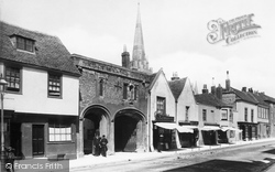 Chichester, Canon Lane Archway, South Street 1890