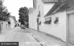 Chichester, Canon Lane c.1960