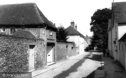 Chichester, Canon Lane c.1965