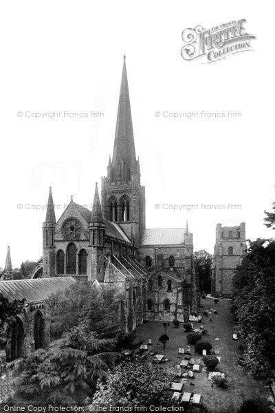 Photo of Chichester, Cathedral 1923