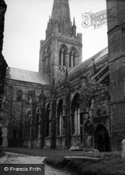 Chichester, Cathedral 1953